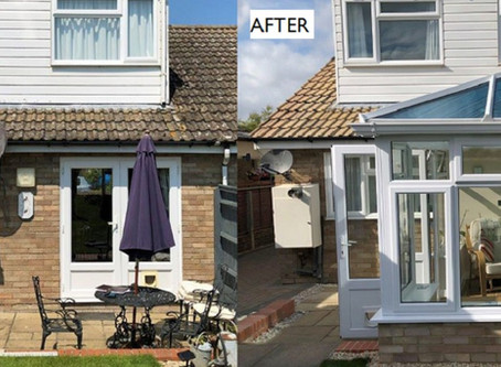Adding a conservatory to a dormer bungalow