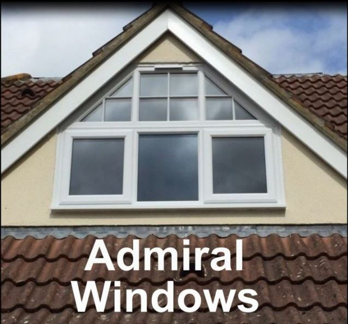 Still frame of completed raked frame window job Admiral Windows Oxford