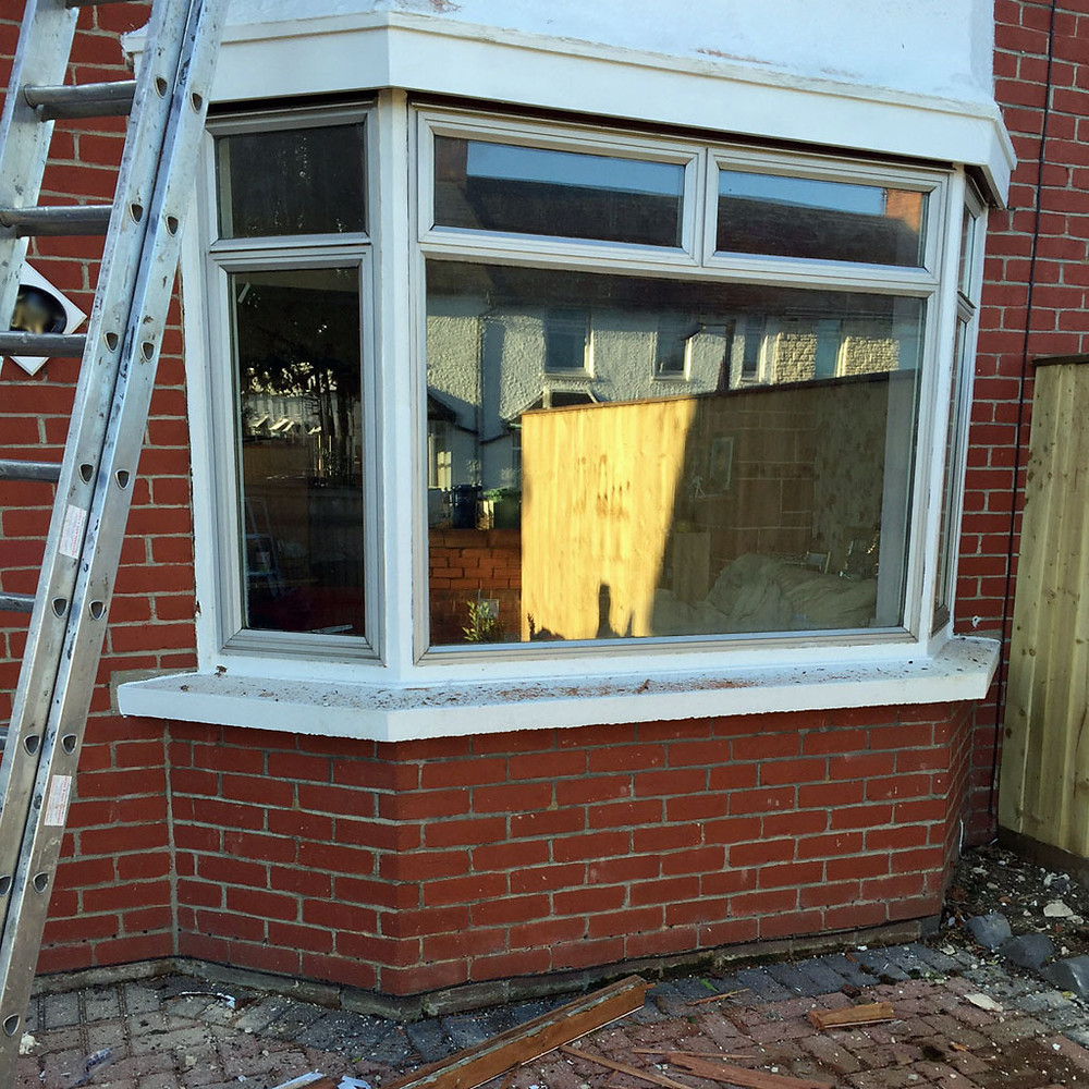 Admiral Windows Oxford old alu removal