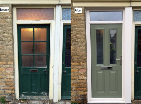 Visage Bamburgh composite door (Chartwell Green)