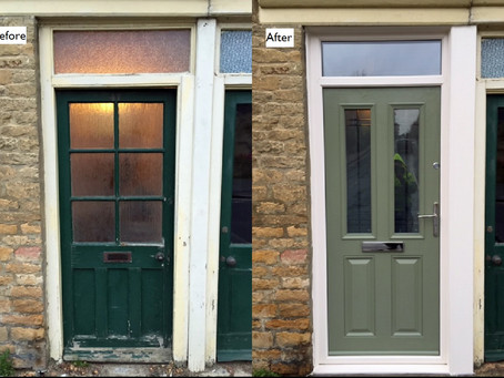 Visage Bamburgh composite door (Chartwell Green)