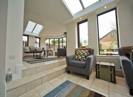 Product Spotlight: LivinROOF for a solid roof conservatory.