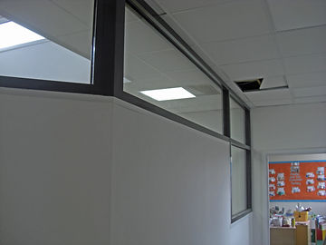 self-contained reception at a school side view