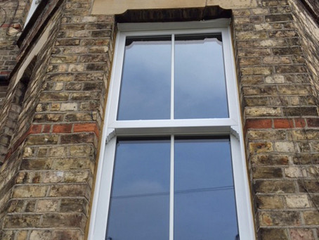 Replacing sash windows