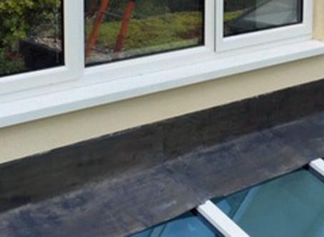 Aluminium casement window – and glass roof rebuild