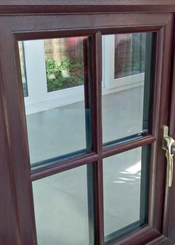 Astragal bars on uPVC window_Admiral Windows Oxford