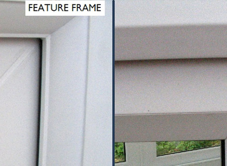 UPVC window frames: bevelled and feature – what's the difference?