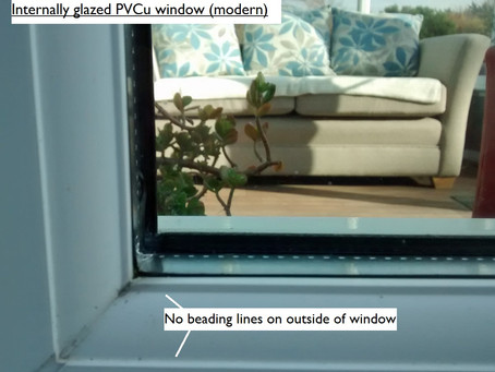 How to tell whether your windows are internally glazed or externally glazed