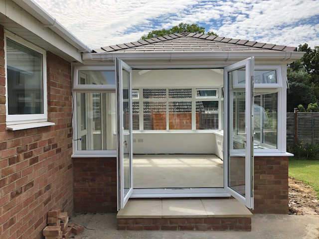 image047 AFTER double hipped solid roof conservatory Admiral Windows Oxford