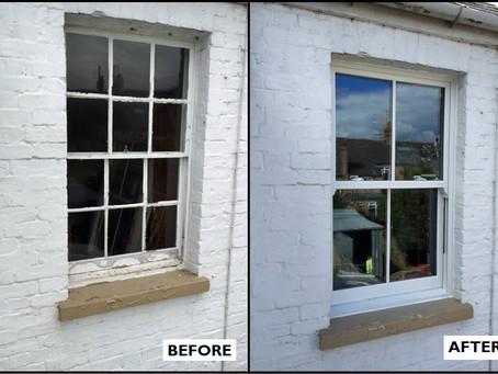PVC-U Vertical Sliding Windows