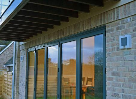 REAL Aluminium bi-fold doors