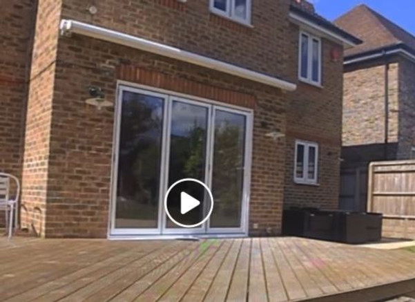 Replacing French doors with uPVC bifolds_AFTER