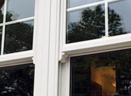 Charisma Rose sliding sash windows
