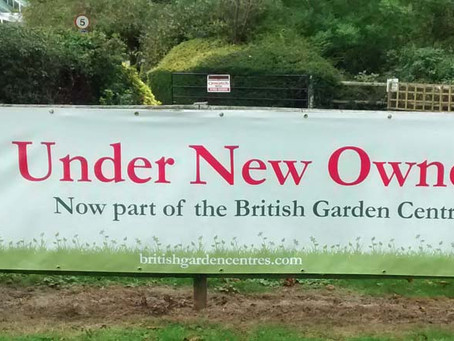 News from Chilton Garden Centre, home of the Admiral Windows show-site.