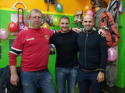 Сергей Горпинюк, Сергей Новожонов, Алекс
