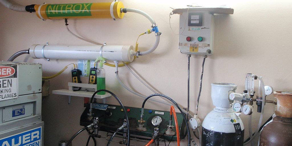 Курс Nitrox/Trimix Gas Blender