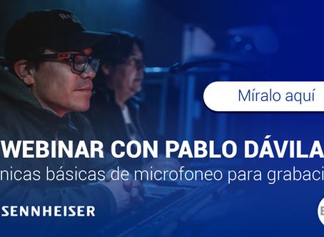 Webinar Pablo Dávila - Técnicas Básicas de Microfoneo