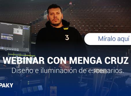 Webinar de Diseño e Iluminación con ClayPaky . Menga Cruz y Mauricio Brando