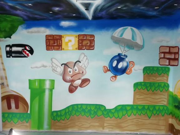 Super Mario _ sonic room part 3