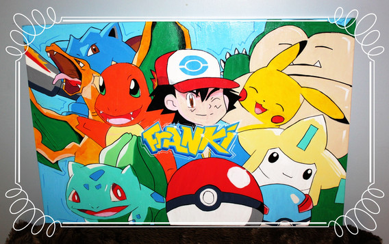 Pokemon canvas