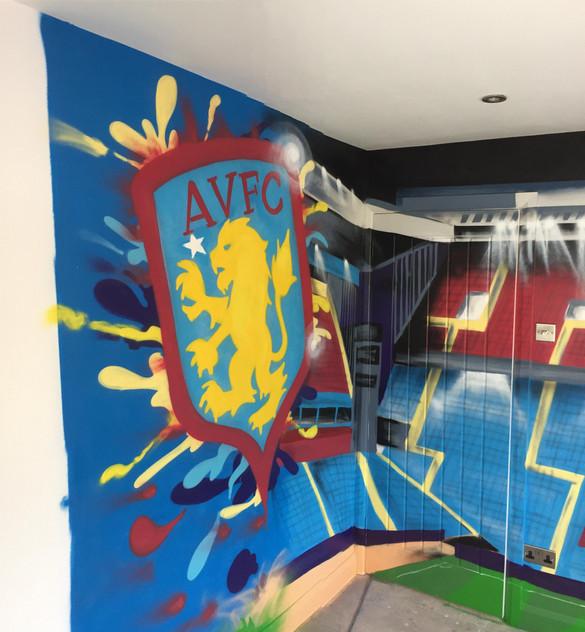 Villa Badge / Holte End