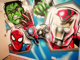 Marvel bedroom!