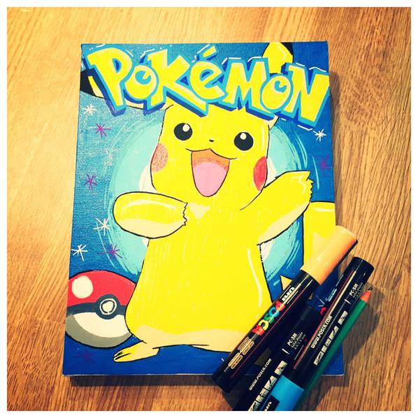 Pokemon mini canvas