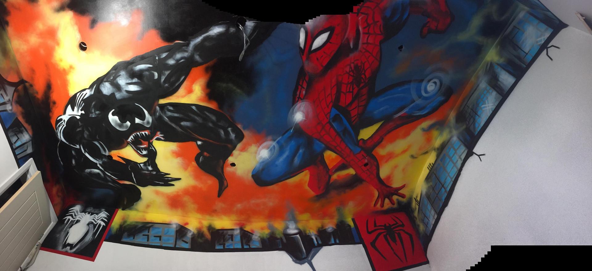 Spiderman vs Venom Ceiling