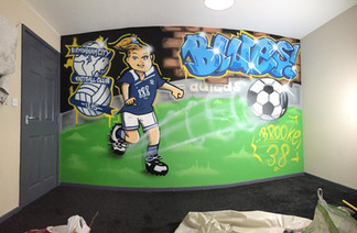 BCFC Bedroom mural