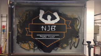 gym logo for NJB thai boxing, West Bromwich