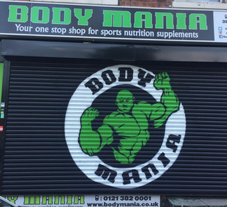 Body Mania Supplement store