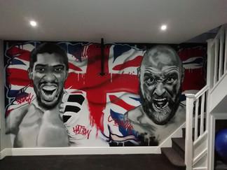 Tyson vs Joshua
