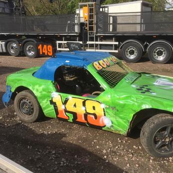 149 Rear Wheel Drive, Spray painted
