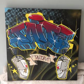 Custom Canvas for Taite