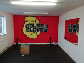 Logo for Golden Gloves Boxing Gym