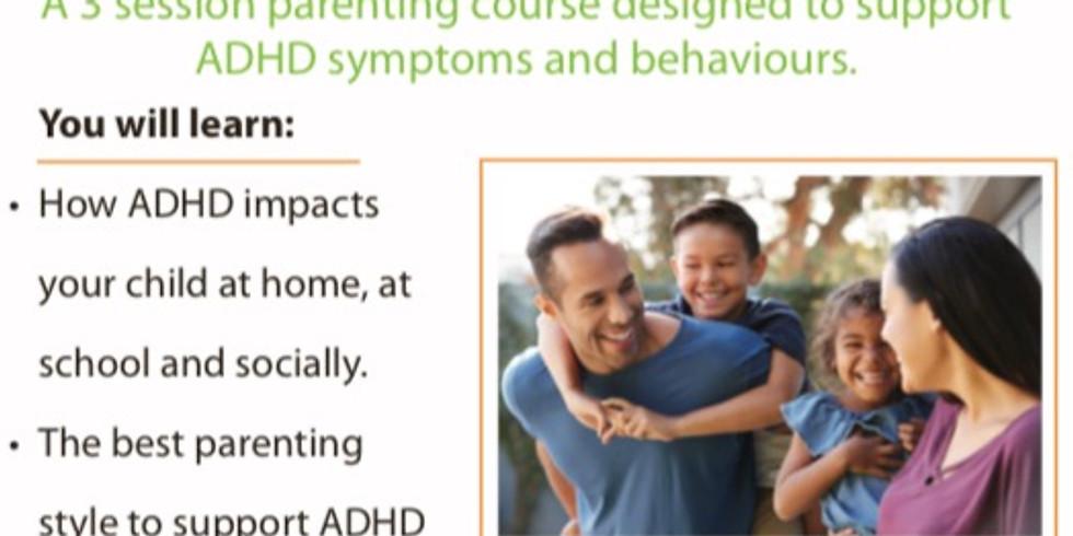 Parenting Kids With ADHD, Parent Training Workshop - Waroona WA