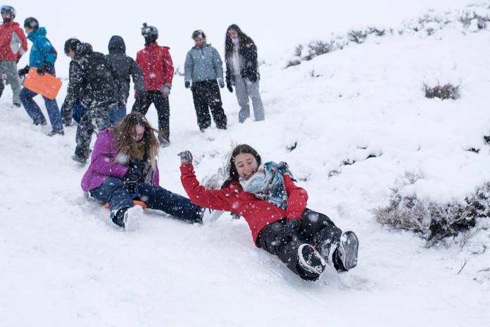 Actividad en la nieve