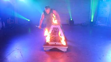 Timeless Show   Fire Pyramid