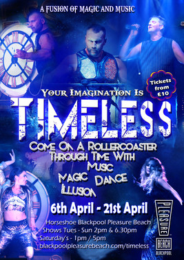 Timless Show   Blackpool Poster