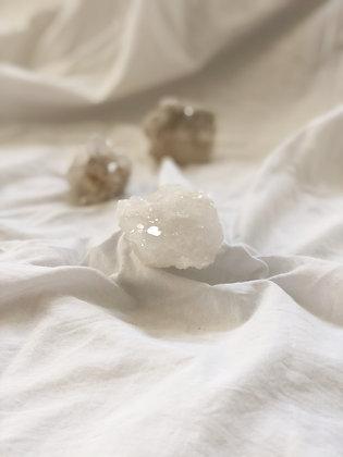 Géode de quartz cristal