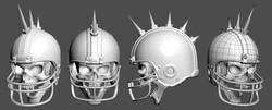 Spiked Helmet Angles