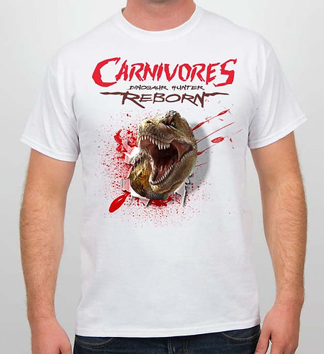 Carnivores: Bloody T-Rex T-Shirt