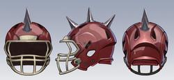 Spiked Helmet Sides