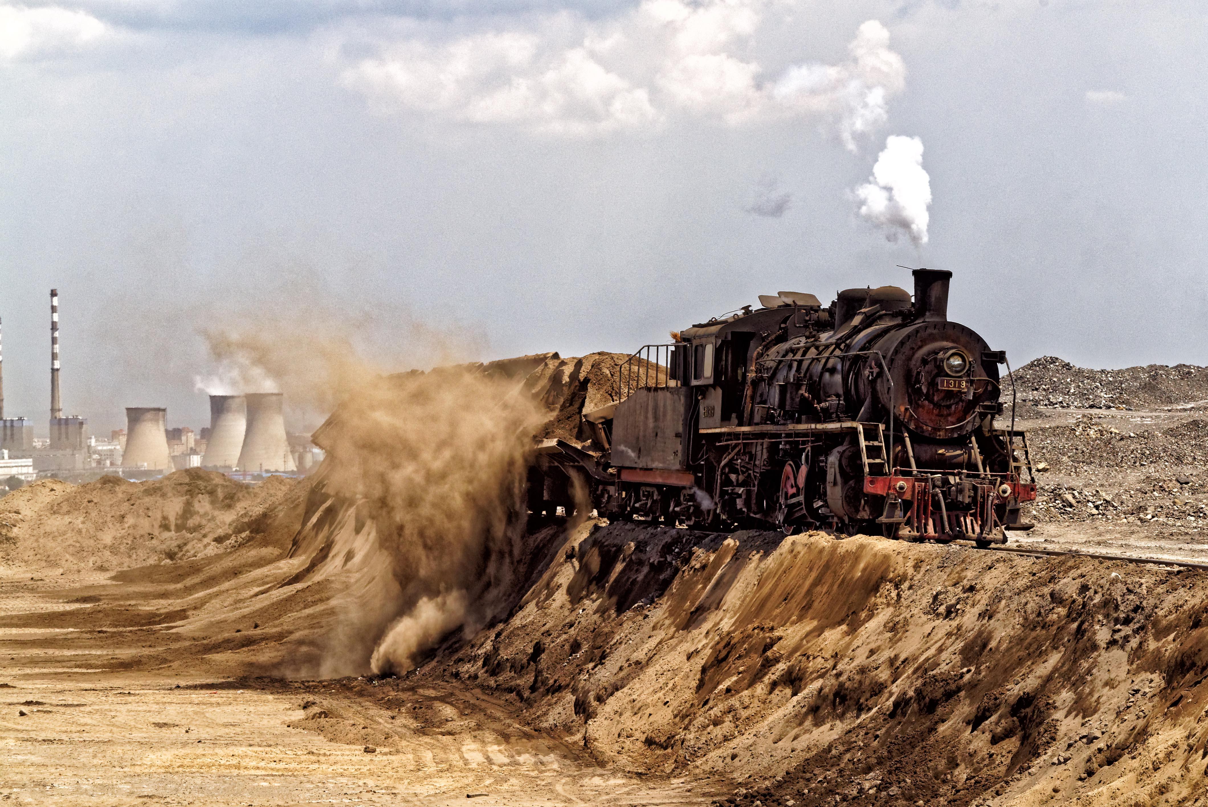 discharge coal or dust of coal