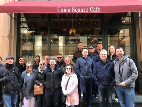 NYC Study Tour success