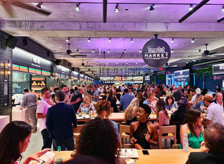 What is the future of the food hall?