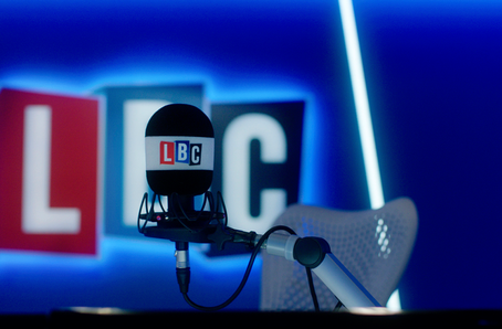 James Hacon joins LBC radio show again
