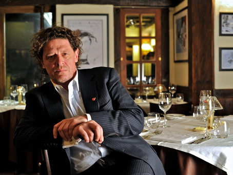 James Hacon keynote at Marco Pierre White Restaurants Conference