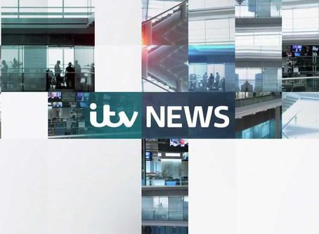 James Hacon interviewed on ITV News