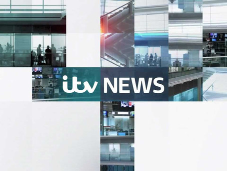 James Hacon interviewed on ITV News